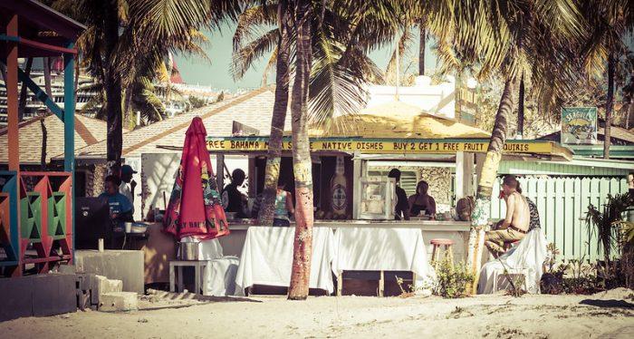 Tiki Bikini Hut op de Bahama's