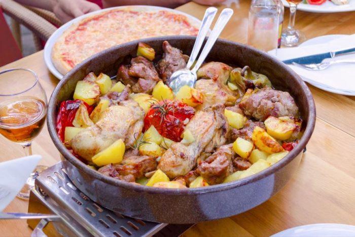 Traditioneel eten van Kroatië