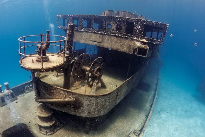 USS Kittiwake scheepswrak bij Grand Cayman