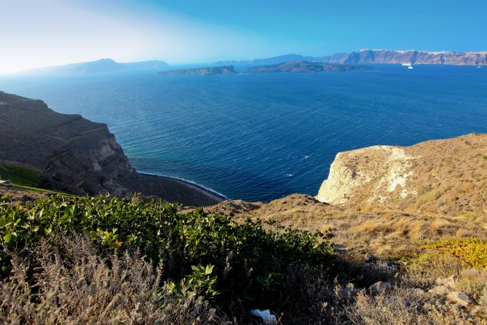 Uitzicht vanaf Fira