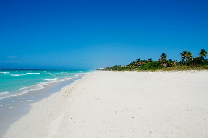 Varadero strand op Cuba