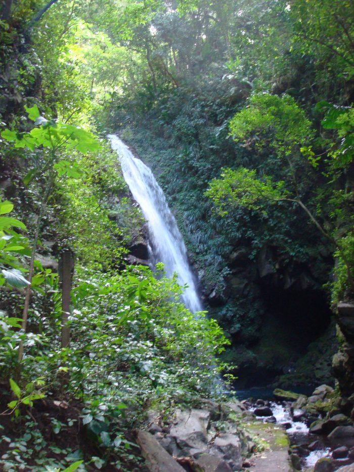 Watervallen van Baleine in Saint Vincent