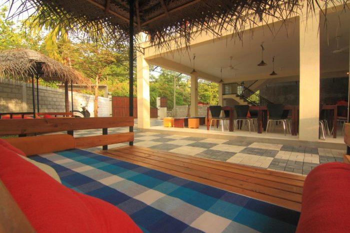 Backpacken Sri Lanka - JJs Hostel Mirissa