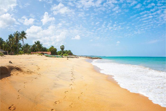 Backpacken Sri Lanka - Kalpitiya Strand