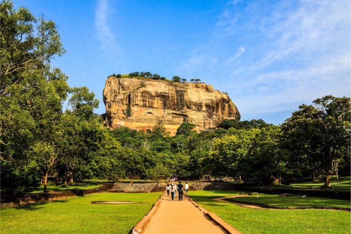 Backpacken Sri Lanka - Lion Rock