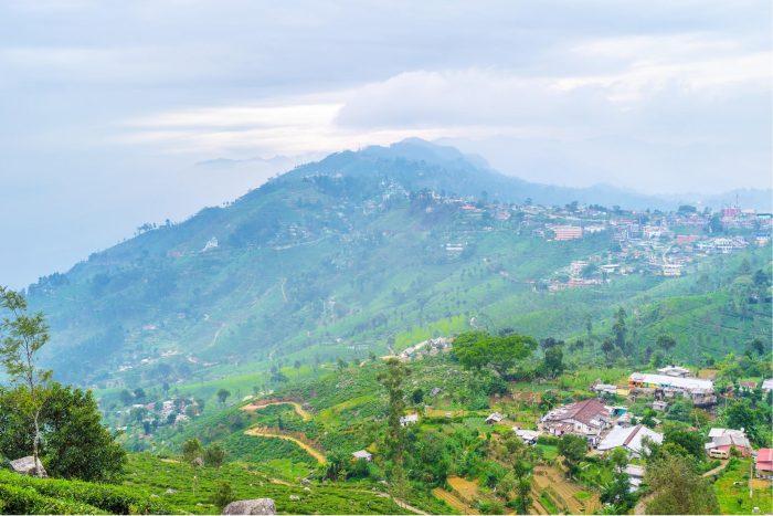 Backpacken Sri Lanka - Mist in Haputale