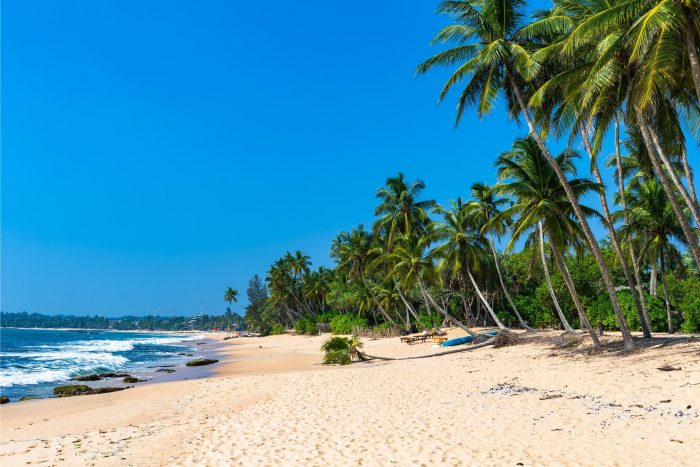 Backpacken Sri Lanka - Tangalle Strand