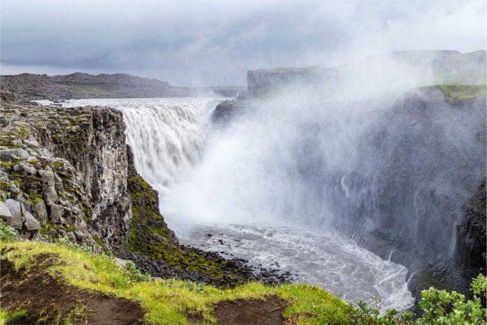 Backpacken in IJsland - Dettifoss Waterval