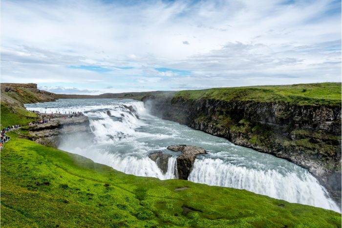 Backpacken in IJsland - Gullfoss Waterval