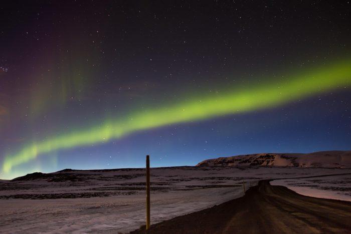Backpacken in IJsland - Noorderlicht (Aurora Borealis)