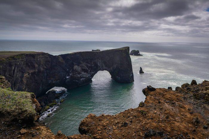 Backpacken in IJsland - Uitzicht op Dyrhólaey