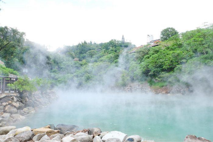 Beitou Hot Springs, warmwaterbronnen in Taipei
