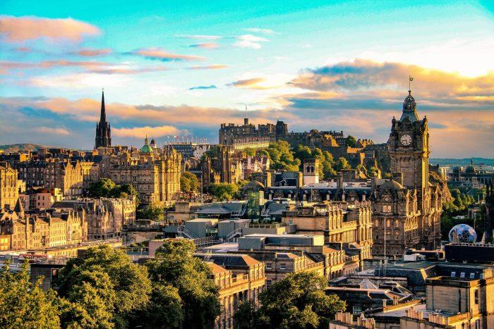 Bezienswaardigheden Edinburgh Schotland