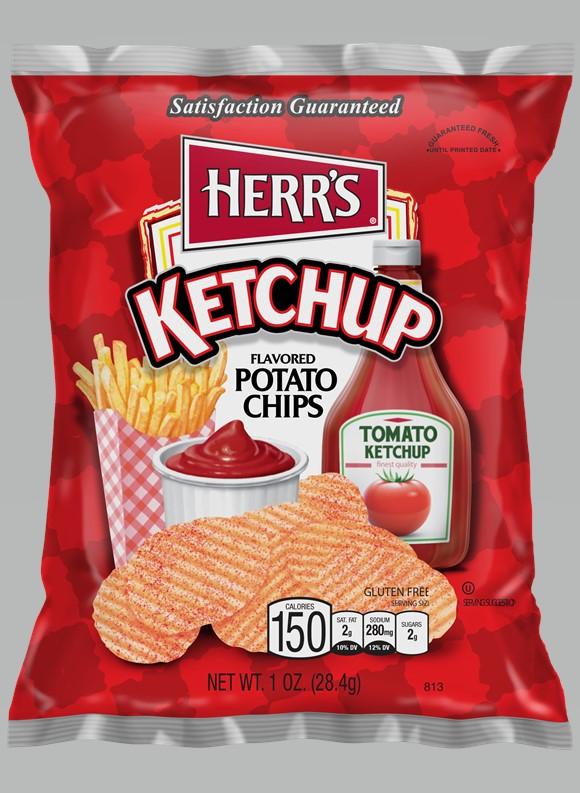 Canadees Eten - Ketchup Chips