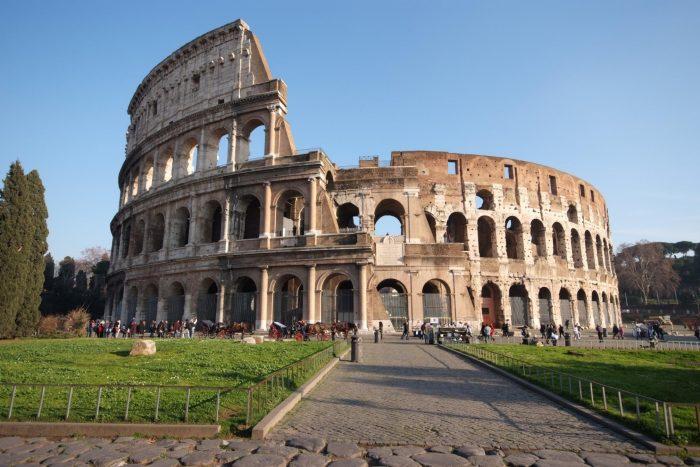 Colosseum Muren