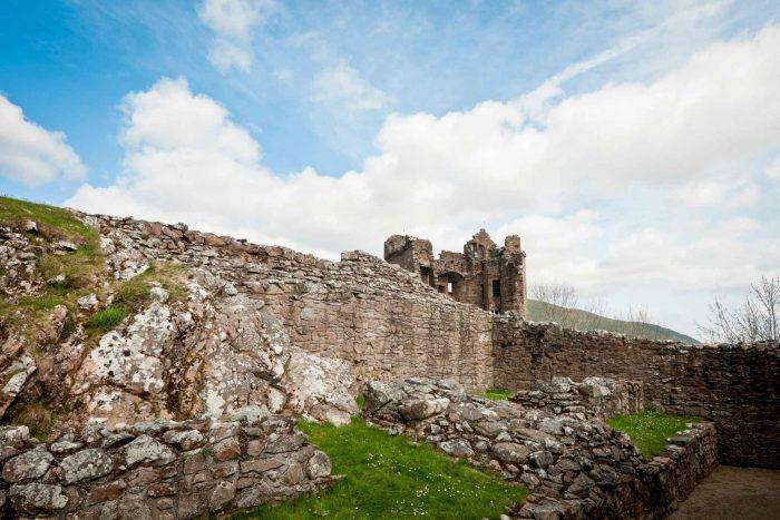 De ruïnes van Urquhart Castle