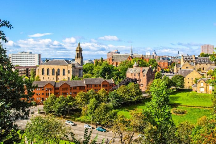 Glasgow Schotland