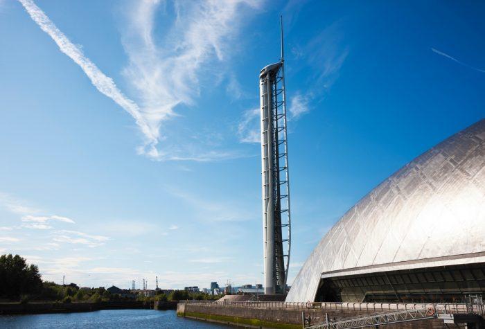 Glasgow Science Centre Schotland
