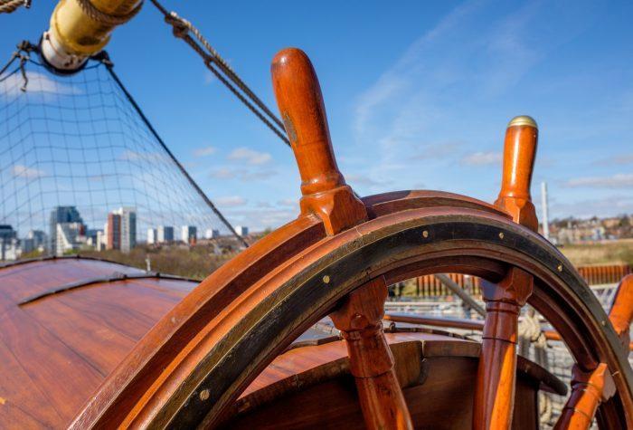 Glenlee Tall Ship bij Riverside Museum