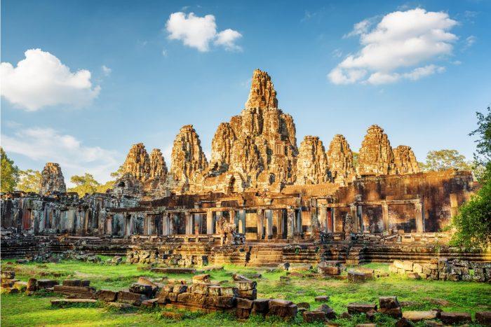 Historische Plaats - Angkor Wat in Cambodja