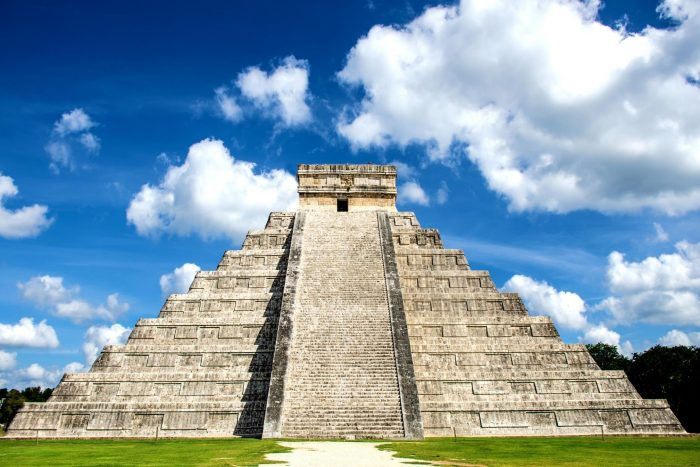 Historische Plaatsen - Chichén Itzá in Mexico