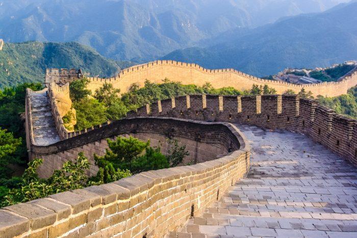 Historische Plaats - Chinese Muur bij Peking, China