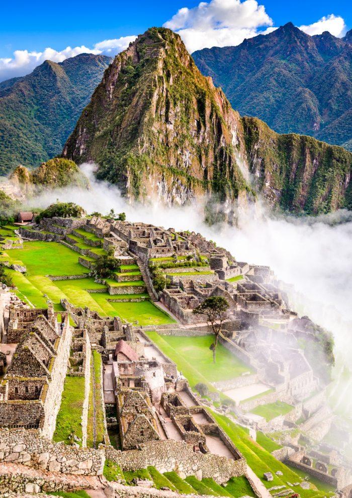 Historische Plaatsen - Machu Picchu in Peru