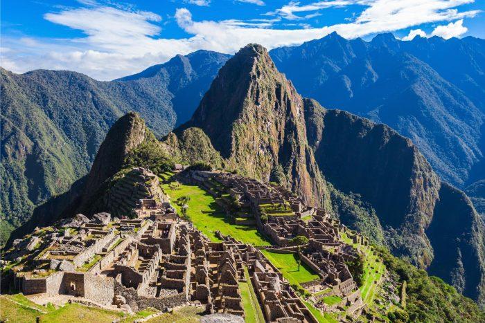 Historische Plaats - Machu Picchu Mexico