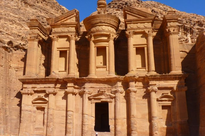 Historische Plaats - Petra in Jordanië