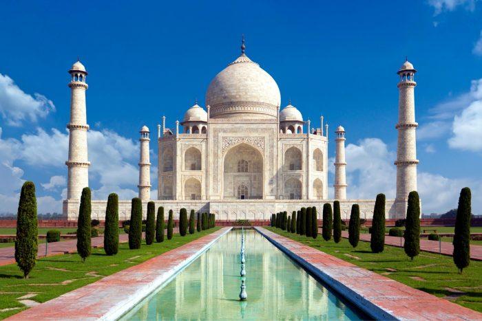 Historische Plaats - Taj Mahal in India