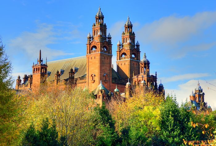 Kelvingrove Art Gallery en Museum Glasgow