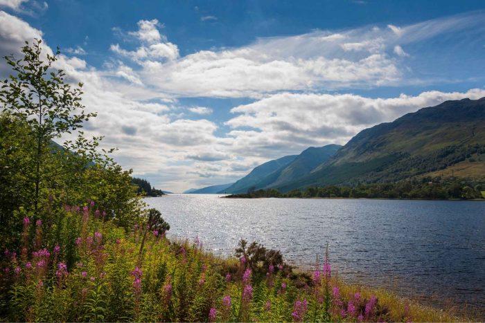 Loch Ness in Schotland