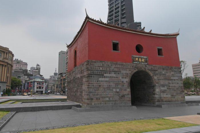 North Gate Budget gebied in Taipei