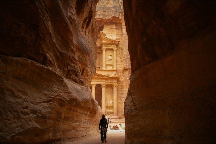 Petra Gang door de Kliffen