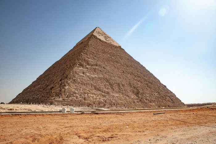 Piramide van Chephren (Khafre)