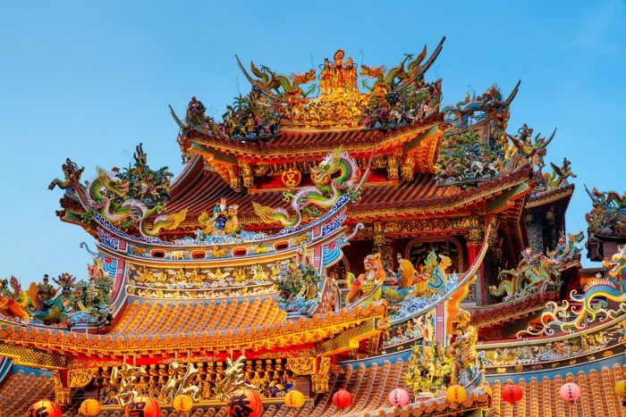 Songshan Ciyou Tempel in Taiwan