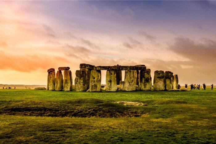 Stonehenge Zonsondergang