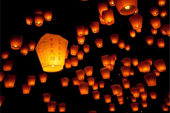 Taipei Lantaarns tijdens festival
