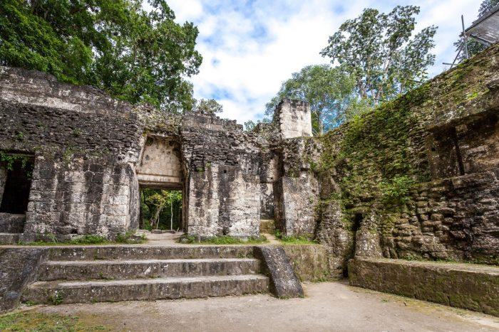 Tikal Oude Muren