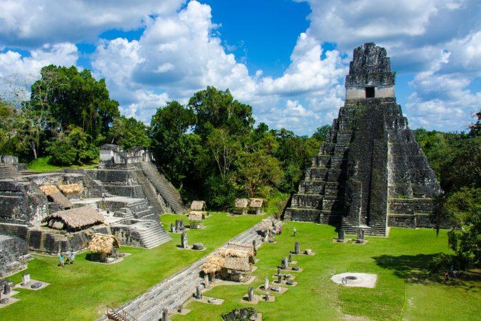 Tikal bezoeken