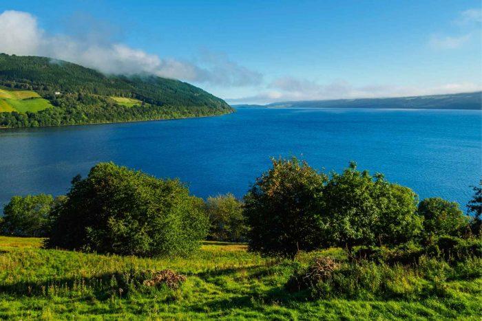 Uitzicht over Loch Ness