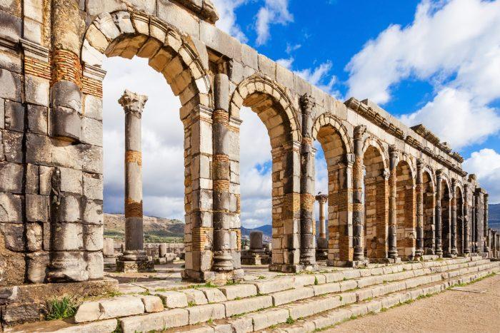 Basiliek bij Volubilis