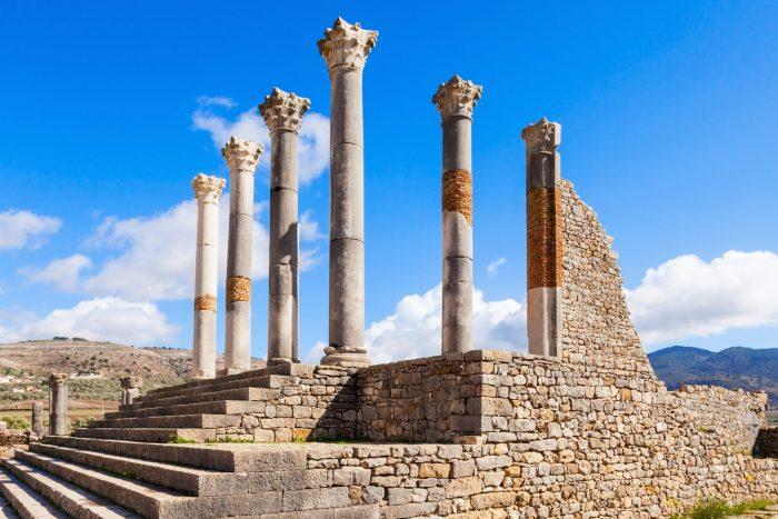 Capitolijnse tempel bij Volubilis