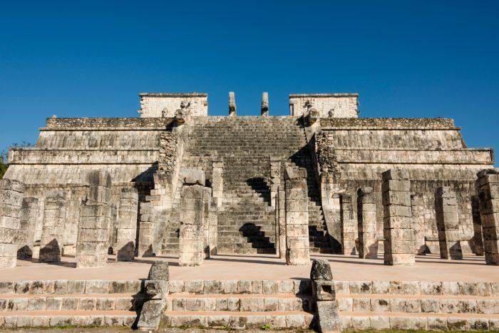 Chichen Itza Bezoeken - Tempel van de Krijgers