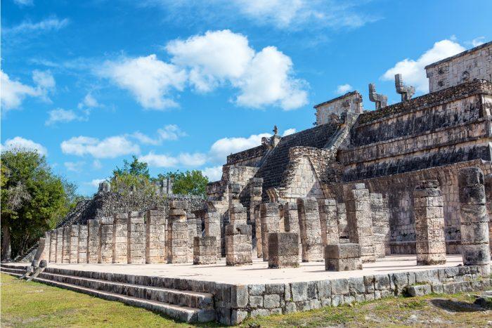 Chichen Itza Maya Ruïnes