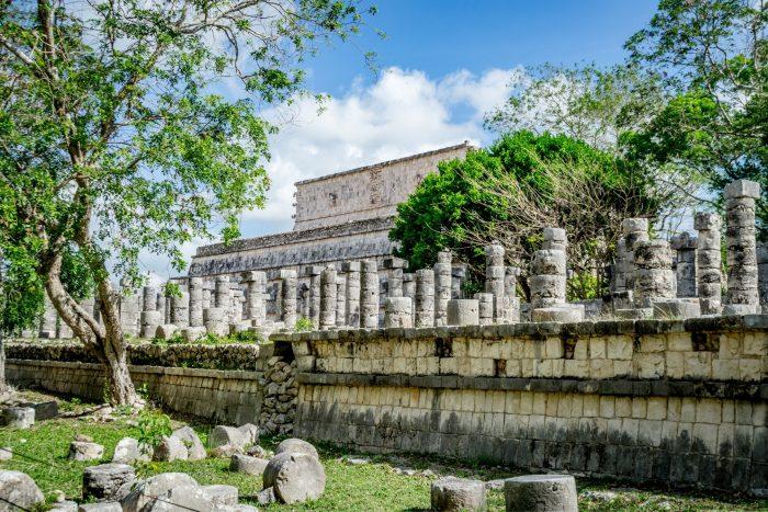 Chichen Itza - Tempel van de Krijgers