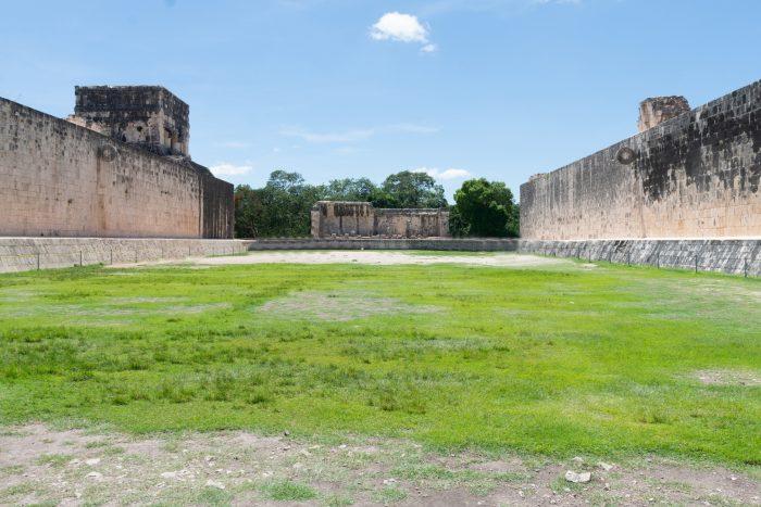 Chichen Itza - Veld van de Grote Balspelbaan van de Maya