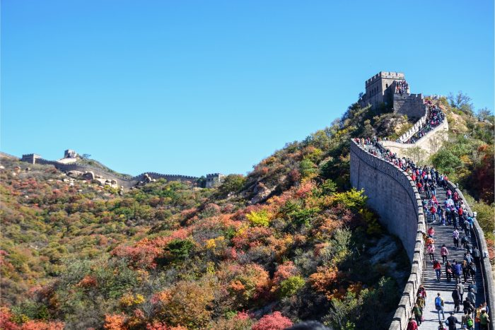 Chinese Muur - Badaling Toeristen