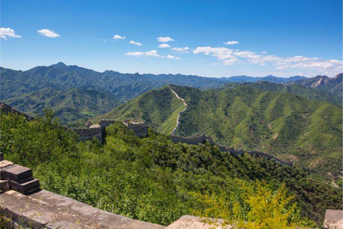 Chinese Muur - Huanghuacheng Uitzicht