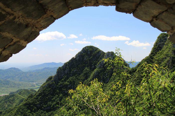 Chinese Muur - Jiankou Uitzicht